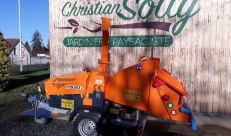 Service de broyage et de branchage de végétaux à Bourbon-Lancy